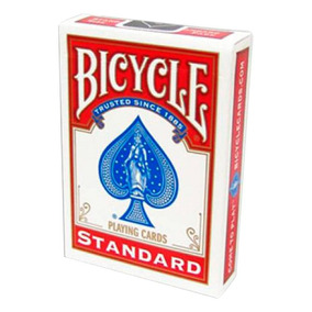 Baralho Bicycle Standard - Vermelho