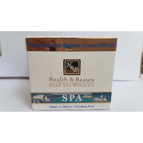 Crema Hidratante Anti-arrugas Con Spf-20 Del Mar Muerto