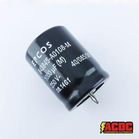 4 Pçs Capacitor Eletrolítico 250v 1000uf Snap-in 105° Epcos