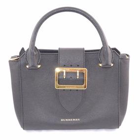 Burberry Handbag Negra Msrp $40,500