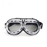 Óculos Aviador Lente Fumê Vintage Retro Moto Harley Custom 34df20f3a1