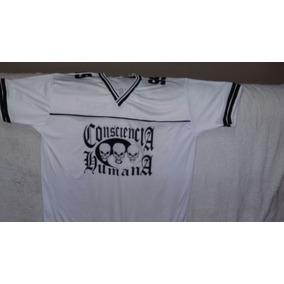 Consiência Humana - Camisa De Poliéster 738a95b1b00