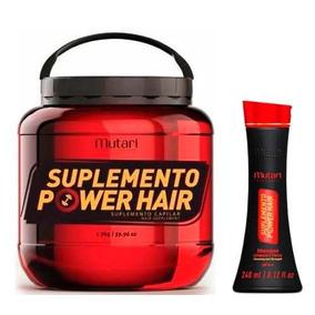 Mutari Suplemento Capilar Power + Shampoo Power