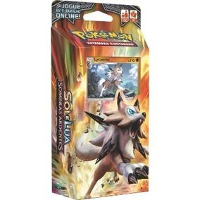 Deck Pokemon Sol E Lua Sombras Ardentes Lycanroc Gx Ex