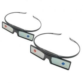 c6918f7e0fcc9 Kit 2 Óculos 3d Activos Samsung Ssg 2100ab Toda Serie C Led ...