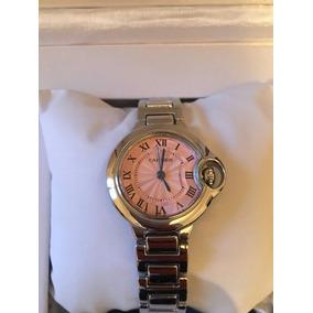 Relógio Cartier Feminino Com Caixa De Luxo