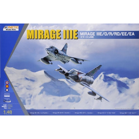 Avión Mirage 3e Kinetic 1/48