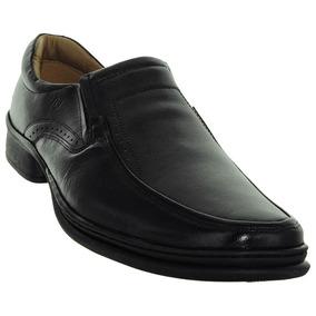 Sapato Couro Preto Soft Confort Alth Rafarillo 56959013