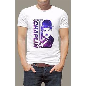 Camiseta Charlie Chaplin - Camisetas Manga Curta no Mercado Livre Brasil 7d9b88dcabce5