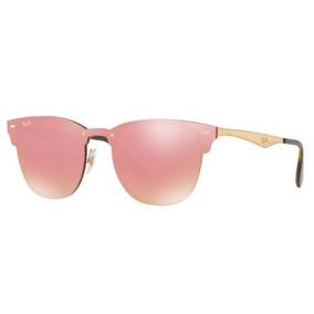 9e811d4bb9f88 Ray Ban Blaze Clubmaster Espelhado - Óculos De Sol no Mercado Livre ...