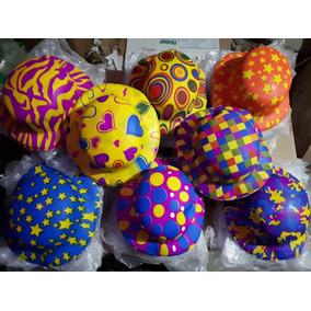 100 Sombrero Bombin Neon Plastico Fiesta Boda Evento Batuca 634f381c326