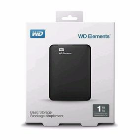 Hd Externo 1tb Wd Western Digital 2 Anos Garantia Nfe