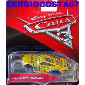 Disney Cars 3 Cruz Ramirez Dinoco + 300 Mod Cars Frete Baixo