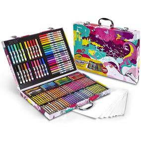 Estuche Crayola Inspiration Art Case-pink 140 Piezas