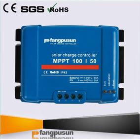 Controlador Solar Fangpusun Poderoso 50a Mppt 12v 24v