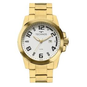 Relógio Masculino Technos Racer 2115mgs/4b Dourado