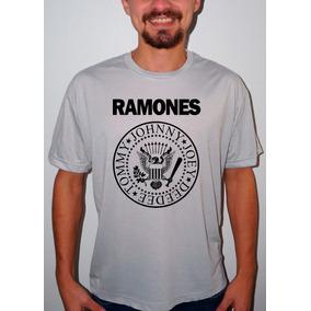 Camiseta Cavalera Paródia Ramones Frete Grátis - Camisetas Manga ... 02b212389e3