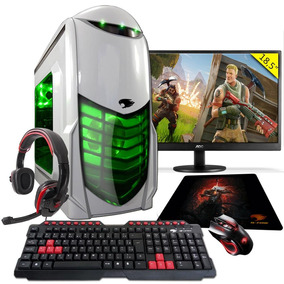 Pc Gamer G-fire A8 9600 8gb R7 2gb Integrada 1tb Moni18,5