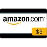 Amazon Gift Card Multiplos De 5 U$d ***mercadopago***