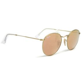 b2786ba770313 Oculos Redondo Espelhado Rosa Ray Ban - Óculos De Sol no Mercado ...