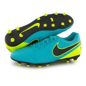 best service ee9aa 30ce1 Tacos Nike Tiempo Rio Iii Fg 819233-307 Johnsonshoes Env Gra