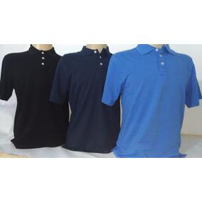 cfbb2df9fa Camisa Polo Azul Claro Manga Curta Lisa Infantil Com Detalhe ...