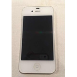 Iphone 4s. Blanco. 16 Gb. + 4 Fundas