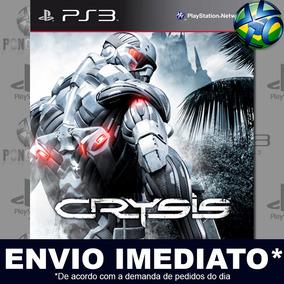 Crysis 1 Ps3 Jogo Mídia Digital Promoção Psn Envio Já