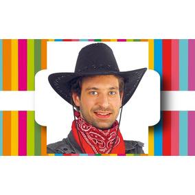 961e61803e3ac Sombrero Vaquero - Cowboy - Texano + Pañuelo - (súper Kit)