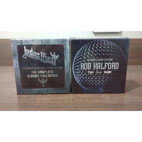 Judas Priest + Rob Halford - 2 Box C/ 33 Cds Originais!