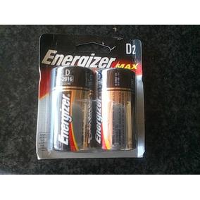 Pilas Energizer Tipo D Alkalinas
