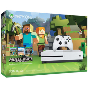 Onsole Xbox Console Ones 500gb Minecraft Bundle- Microsoft