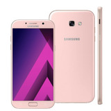 Galaxy A7 2017 32gb Dual A720f/ds Rosa Seminovo