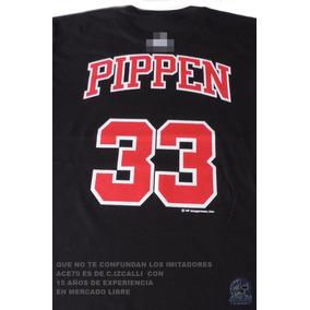 Scottie Pippen Playera Ng Chicago Bulls Envio Gts Nba1 Ace70 1b621441625