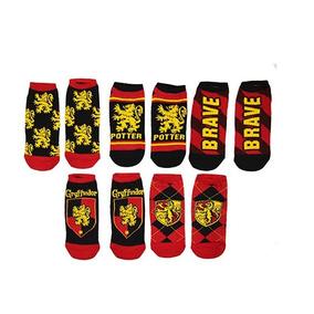 Calcetines De Tobillo Harry Potter Zapato 5 Paquetes De 2 N