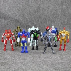 Lote Gigantes De Aço Robos Real Steel Atom Zeus Midas Noisy