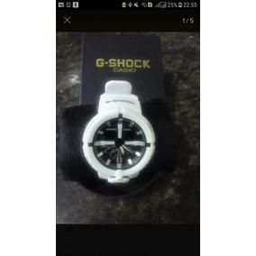 Relógio Casio G-shock Ga-500 Branco Masculino À Prova D´água