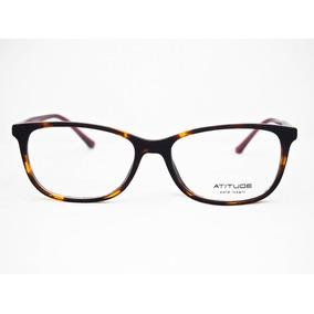 Armação Para Óculos Atitude Feminino At4057 Original Nfe · 2 cores. R  170 e781249e1e