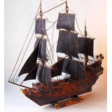 Barco Pirata Perla Negra A Escala (para Armar En Papel) Leer