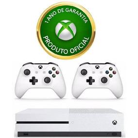 Console Xbox One S 4k 1tb + 2 Controles + Garantia 1 Ano