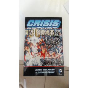 Crise Infinitas Terras Em Inglês (crisis Infinite Earths)