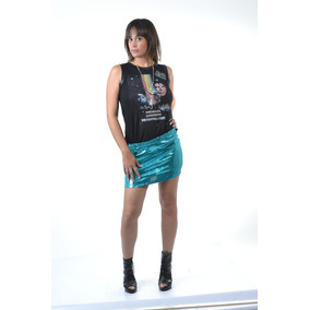 Minifaldas Con Lentejuelas - Ropa y Accesorios en Mercado Libre ... 1136e6207872