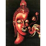 Lienzo De Budha Pintado A Mano Thailandia