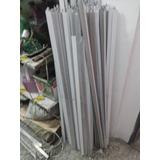 Perfil Aluminio Cielo Techo Raso Tee Blanco-pieza 1,30 M