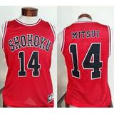 Camiseta Slam Dunk Shohoku Mitsui 14 Todas Tallas + Envio