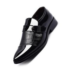 Negro Charol Para En Zapatos Hombre Oxford Medellin nC768