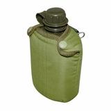 Cantil Militar De Água Plástico Ntk Com Capa Verde Nautika