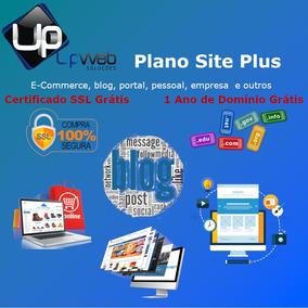Criação De Sites, E-commerce, Blogs, Portal, Site + Blog