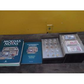 Coleção Moedas E Notas Do Mundo Inteiro