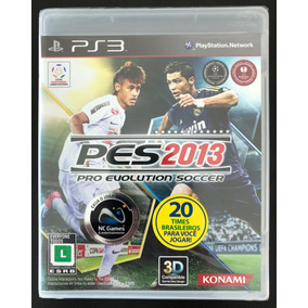 Pes 2013 Pro Evolution Soc - Ps3 - Midia Física Novo Lacrado